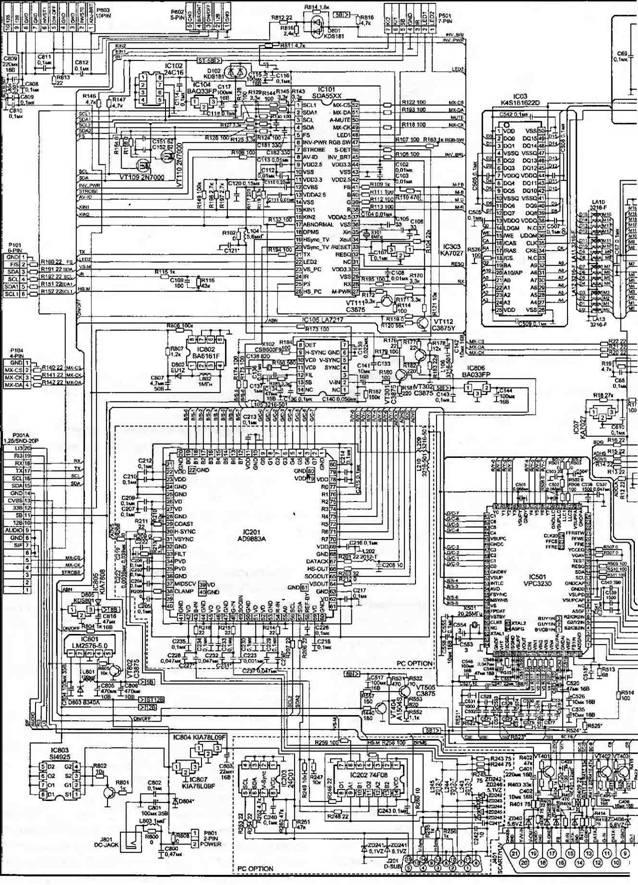 контроллер LCD-монитора с